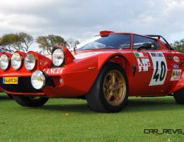 Amelia Island 2015 – 1975 Lancia Stratos Rally Car