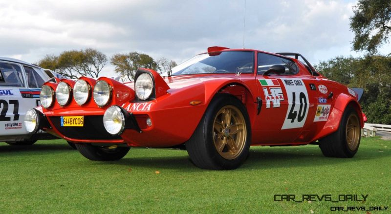 1975 Lancia Stratos Rally Car  12