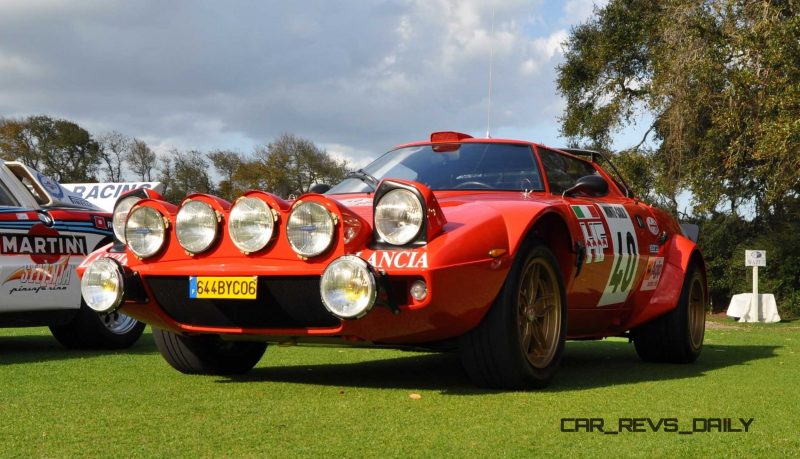 1975 Lancia Stratos Rally Car 13