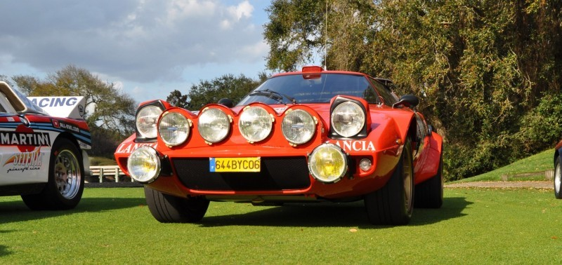 1975 Lancia Stratos Rally Car 17