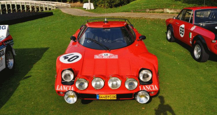1975 Lancia Stratos Rally Car