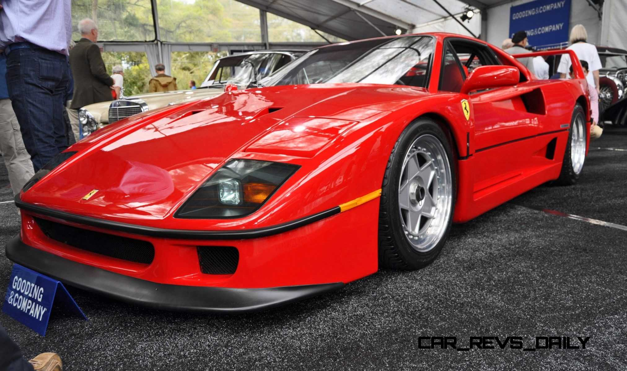 1991 ferrari f40. Black Bedroom Furniture Sets. Home Design Ideas
