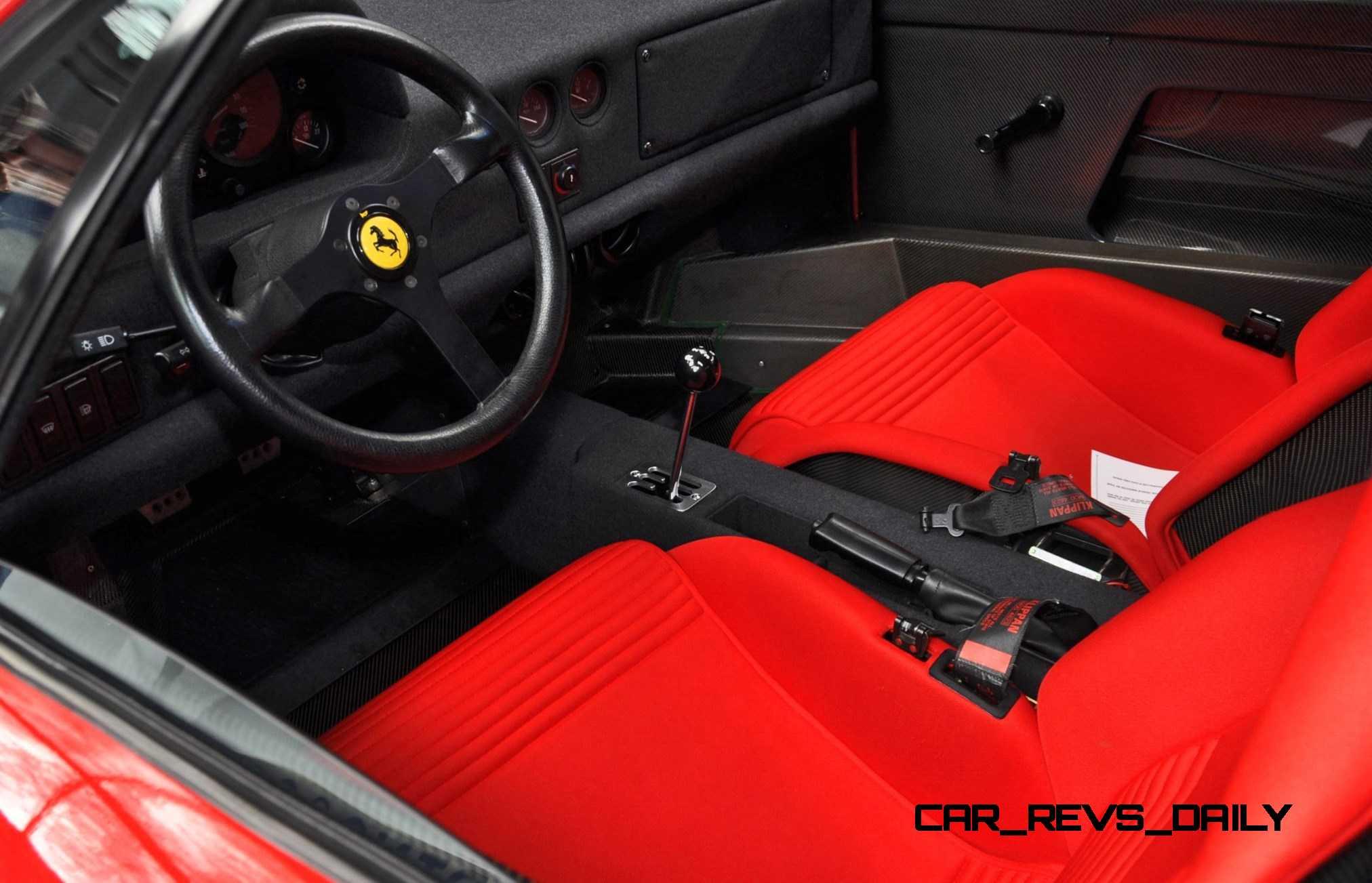 1991-Ferrari-F40-29 Marvelous Ferrari Mondial 8 Te Koop Cars Trend
