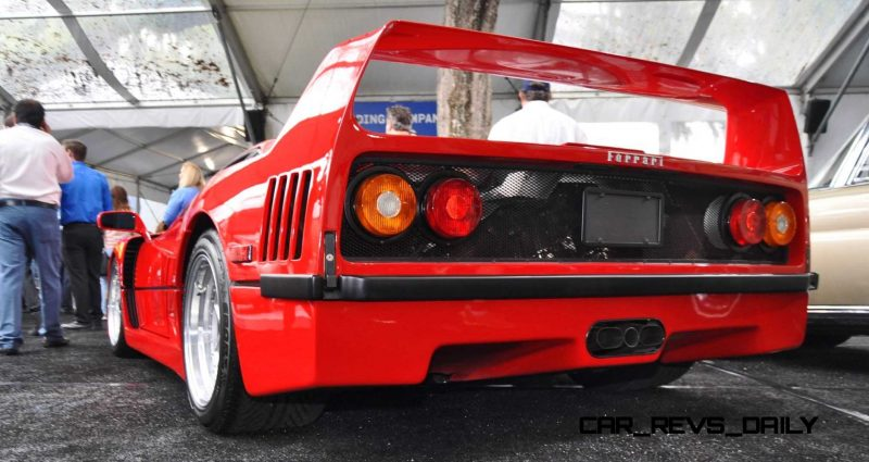 1991 Ferrari F40 40