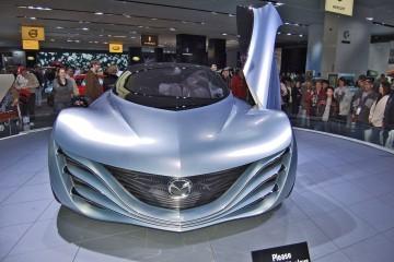 Concept Flashback - 2007 Mazda TAIKI Explores HyperLight Supercar Back-Channels
