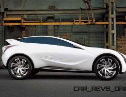 Concept Flashback – 2008 Mazda Kazamai Was Crossover Coupe With Rear-Drive Stance