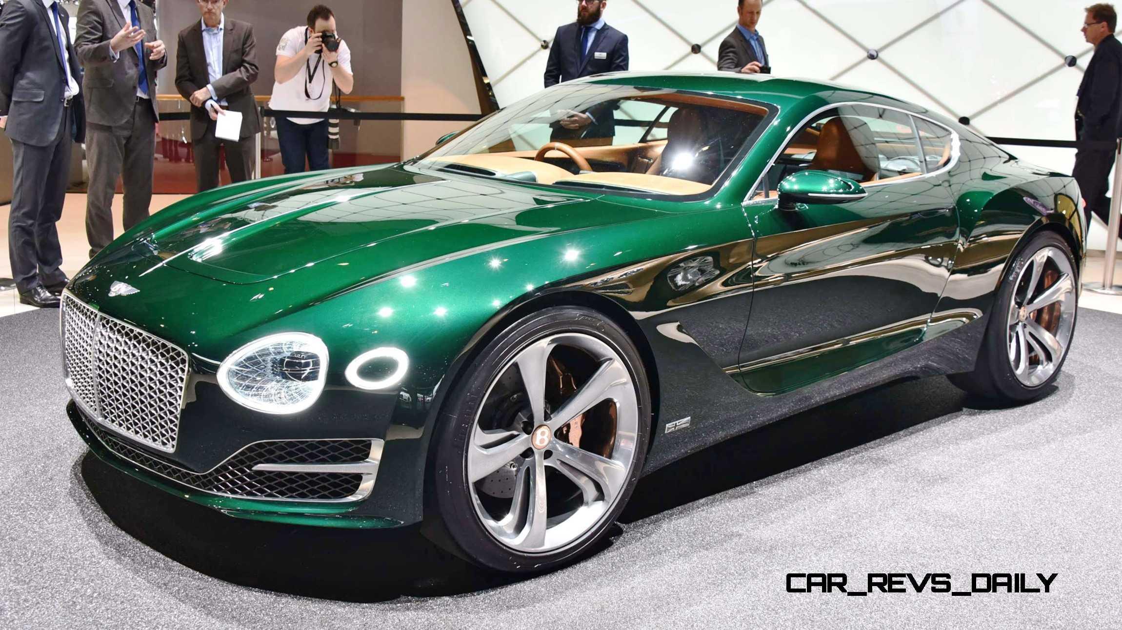 2015 Bentley EXP10 Speed6 Concept