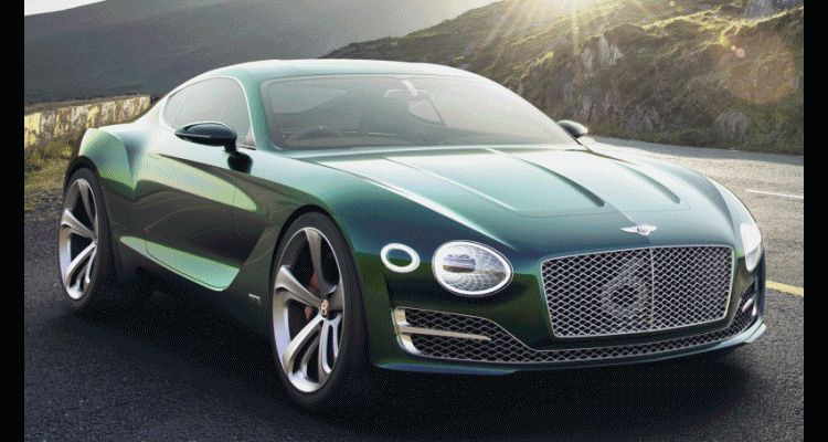 2015 Bentley EXP10 Speed6 Concept