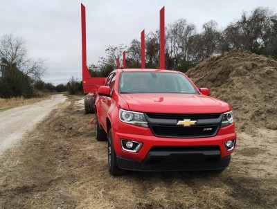 2015 Chevrolet Colorado Z71 11