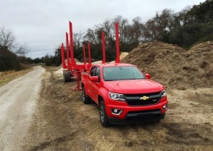 2015 Chevrolet Colorado Z71 23