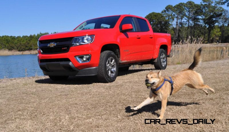 2015 Chevrolet Colorado Z71 36
