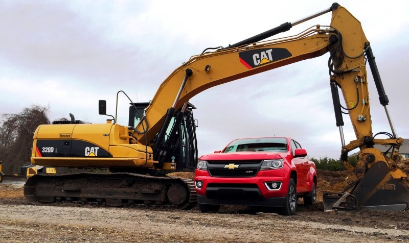 2015 Chevrolet Colorado Z71 4