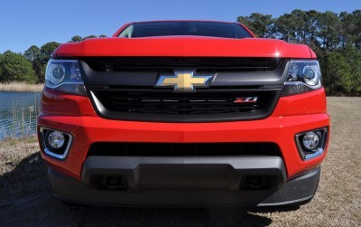 2015 Chevrolet Colorado Z71 45