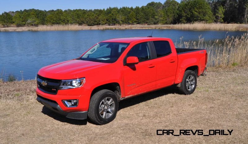 2015 Chevrolet Colorado Z71 73