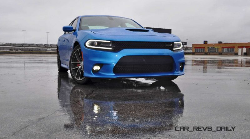 2015 Dodge Charger RT Scat Pack in B5 Blue 6
