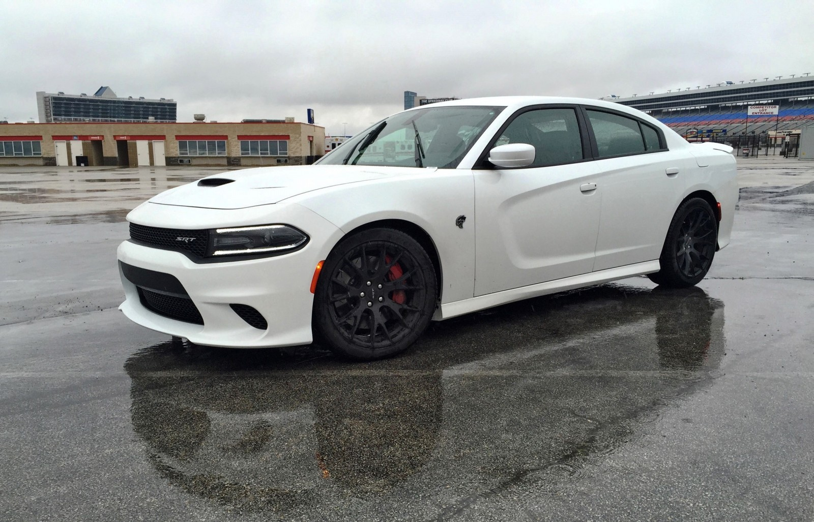Model 2015 Dodge Charger SRT HELLCAT Review