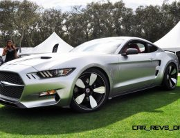Amelia Island – 2015 Fisker ROCKET in 100 New Photos in Liquid Silver