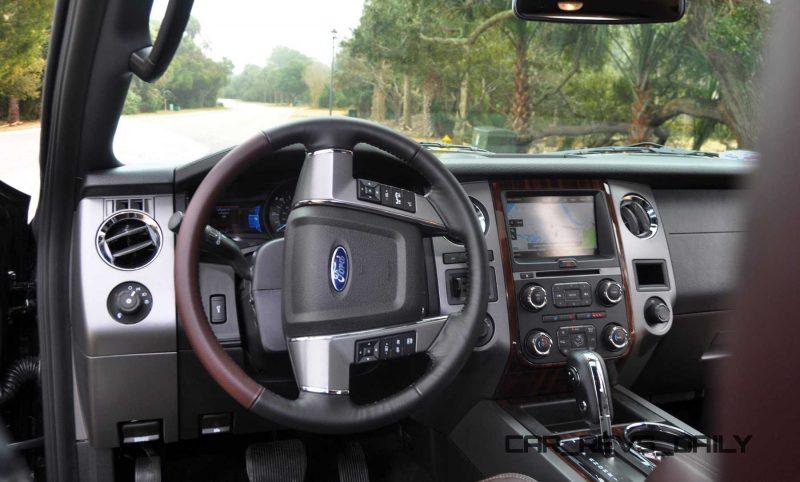 2015 Ford Expedition Platinum EL Interior 10