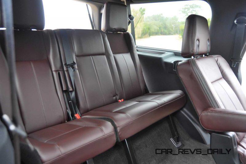 2015 Ford Expedition Platinum EL Interior 15