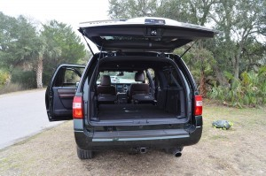 2015 Ford Expedition Platinum EL Interior 2