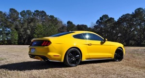 2015 Ford Mustang EcoBoost in Triple Yellow 102