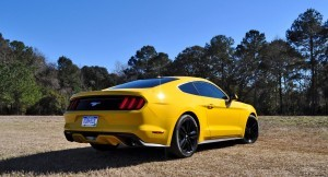 2015 Ford Mustang EcoBoost in Triple Yellow 103