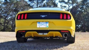 2015 Ford Mustang EcoBoost in Triple Yellow 106
