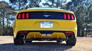 2015 Ford Mustang EcoBoost in Triple Yellow 107
