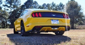 2015 Ford Mustang EcoBoost in Triple Yellow 109