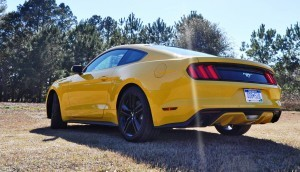 2015 Ford Mustang EcoBoost in Triple Yellow 111