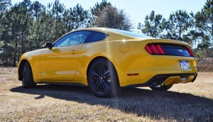 2015 Ford Mustang EcoBoost in Triple Yellow 112