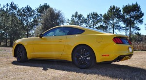 2015 Ford Mustang EcoBoost in Triple Yellow 113