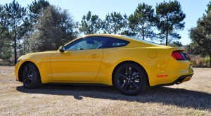 2015 Ford Mustang EcoBoost in Triple Yellow 114