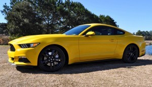 2015 Ford Mustang EcoBoost in Triple Yellow 118