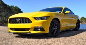 2015 Ford Mustang EcoBoost in Triple Yellow 121