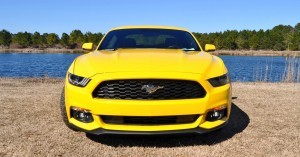 2015 Ford Mustang EcoBoost in Triple Yellow 127