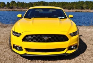 2015 Ford Mustang EcoBoost in Triple Yellow 128
