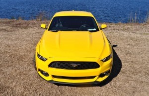 2015 Ford Mustang EcoBoost in Triple Yellow 130
