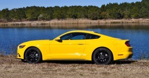 2015 Ford Mustang EcoBoost in Triple Yellow 133