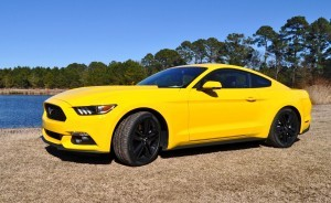 2015 Ford Mustang EcoBoost in Triple Yellow 14