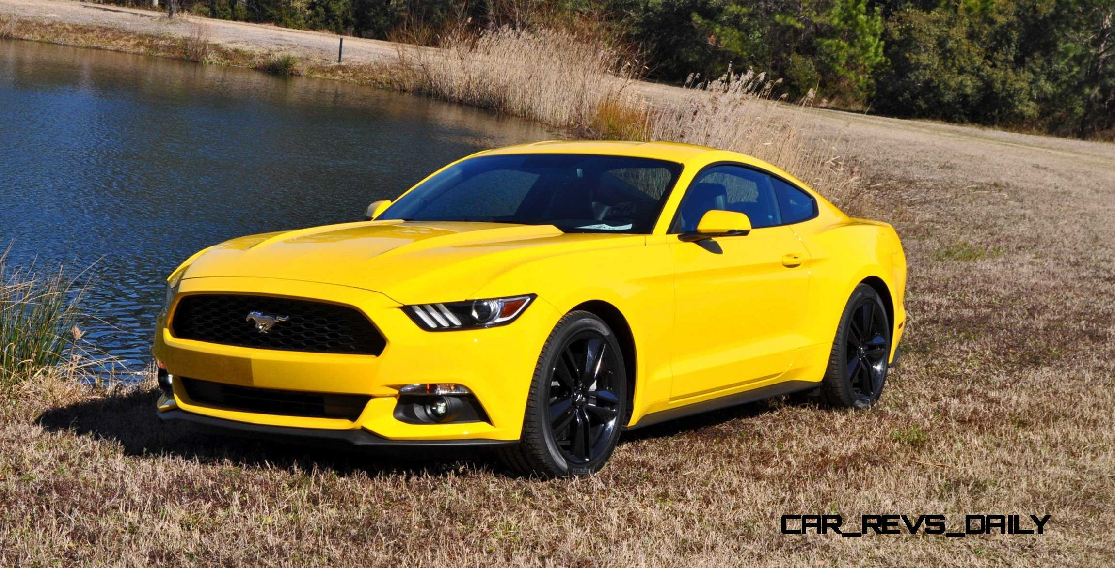 2015 ford mustang ecoboost in triple yellow 140. Black Bedroom Furniture Sets. Home Design Ideas