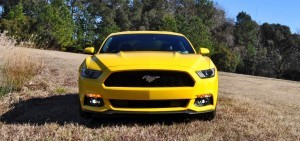 2015 Ford Mustang EcoBoost in Triple Yellow 143