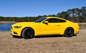 2015 Ford Mustang EcoBoost in Triple Yellow 16