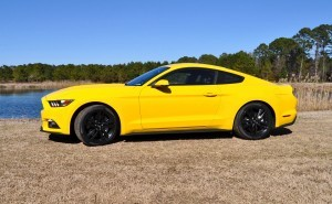 2015 Ford Mustang EcoBoost in Triple Yellow 17