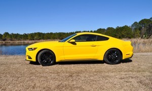 2015 Ford Mustang EcoBoost in Triple Yellow 18