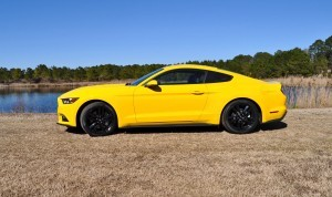 2015 Ford Mustang EcoBoost in Triple Yellow 19