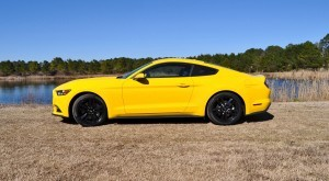 2015 Ford Mustang EcoBoost in Triple Yellow 20