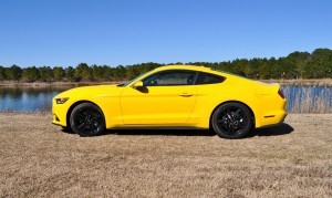 2015 Ford Mustang EcoBoost in Triple Yellow 21