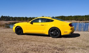 2015 Ford Mustang EcoBoost in Triple Yellow 22