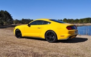 2015 Ford Mustang EcoBoost in Triple Yellow 24